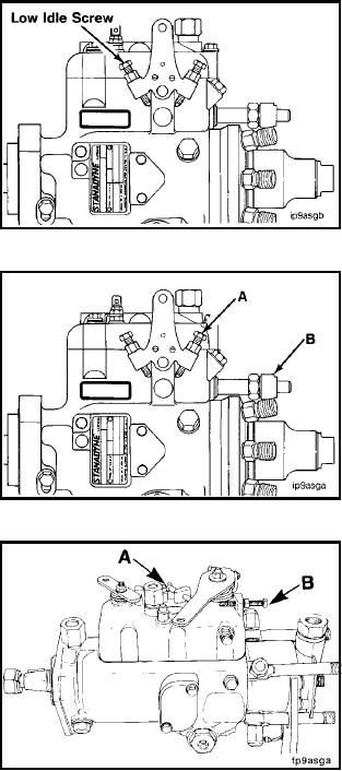 stanadyne db4 fuel injection pump adjustment screw rh constructionexcavators tpub com stanadyne injection pump timing tool stanadyne fuel pump troubleshooting